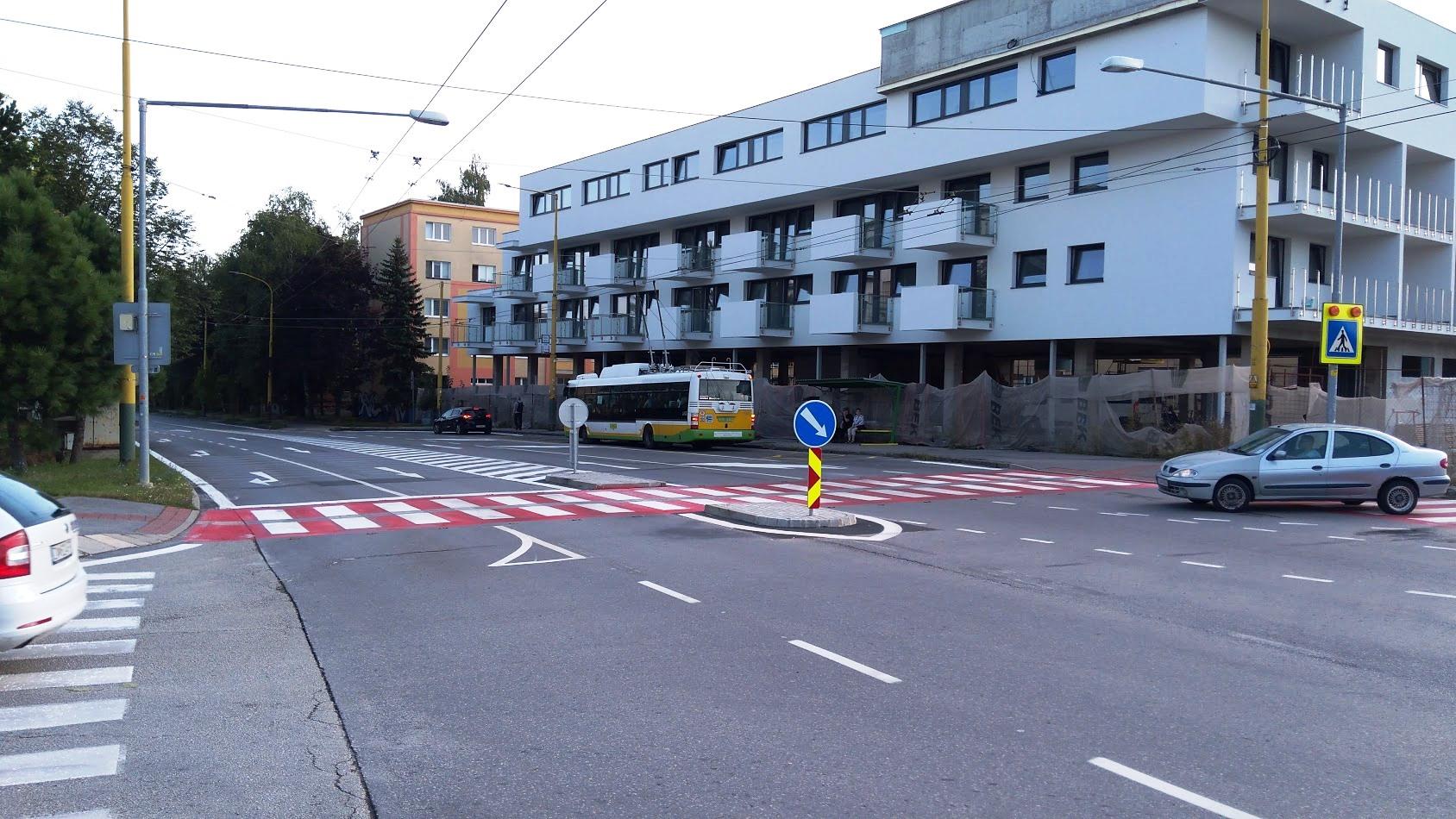 Zmena v doprave na Komenského ulici