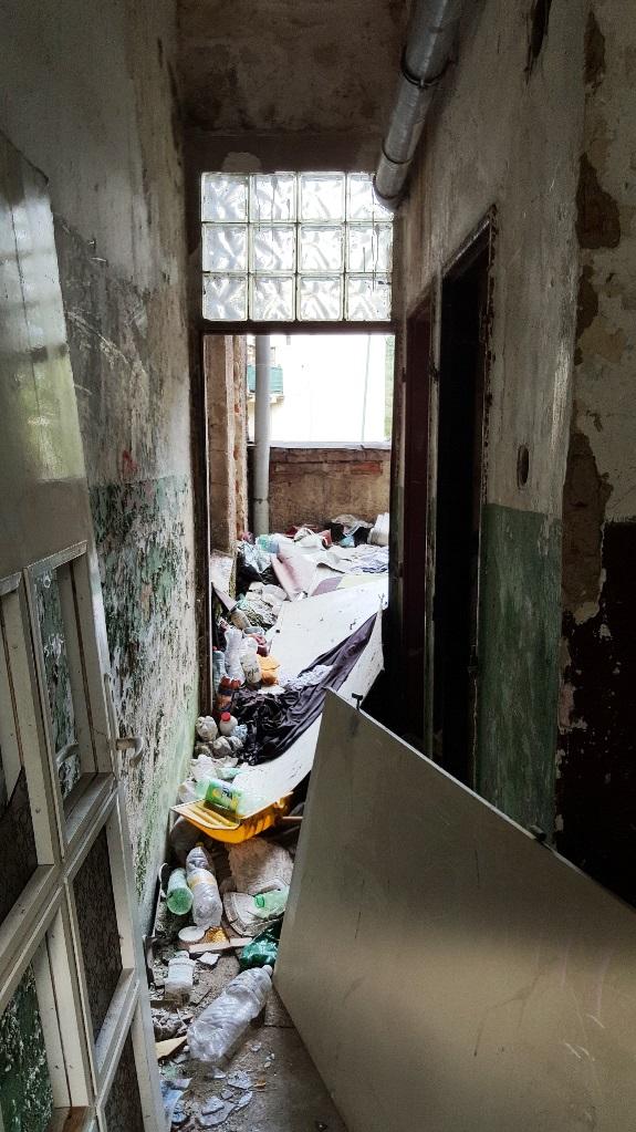 Bytovka je v katastrofálnom stave