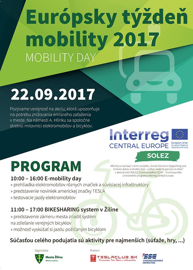 Európsky týždeň mobility 2017
