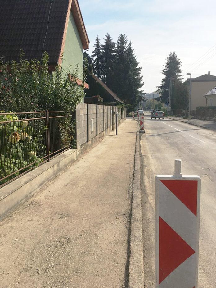 Rekonštrukcia chodníkov