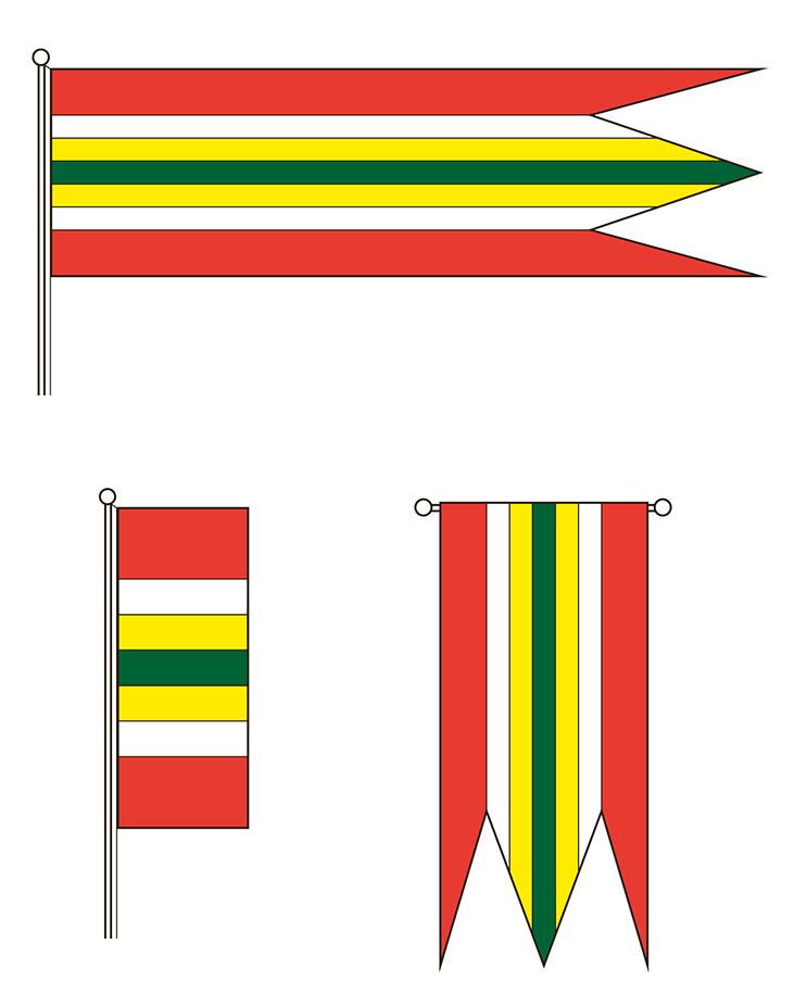 Zástranie - zástavy