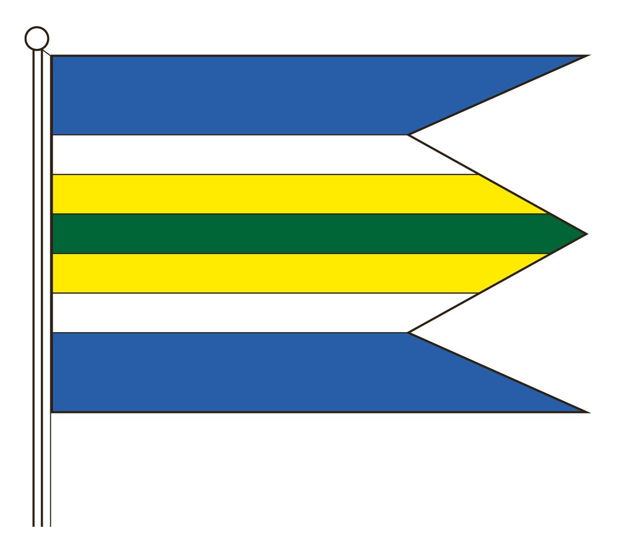 Zástava mestskej časti Zádubnie
