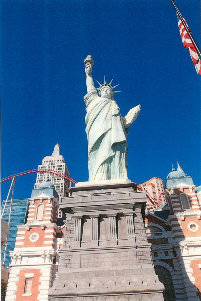 Replika Sochy slobody v Las Vegas