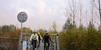 Cyklisti na BikeKII