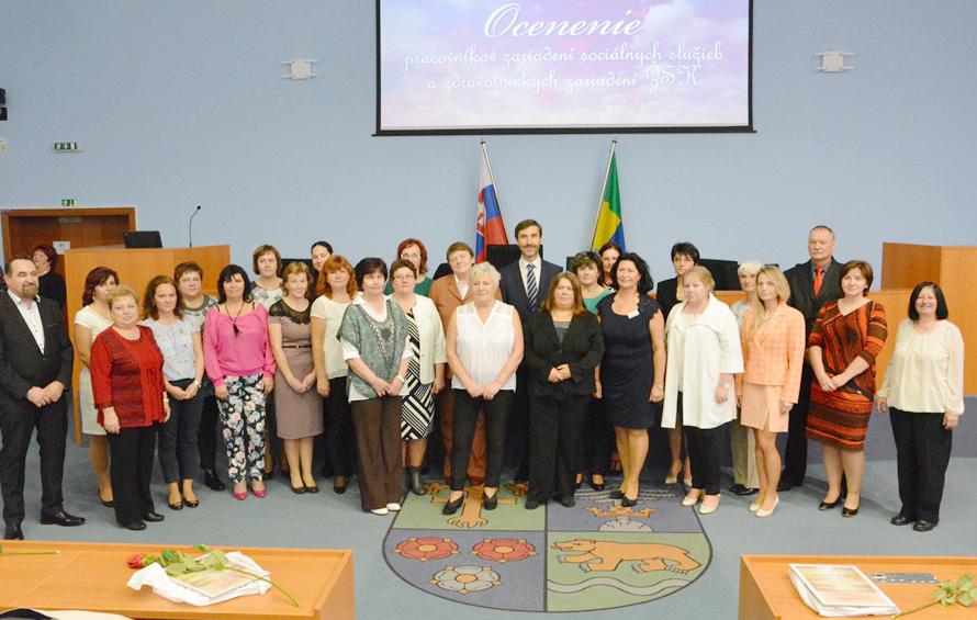 Laureáti z oblasti sociálnych služieb ŽSK