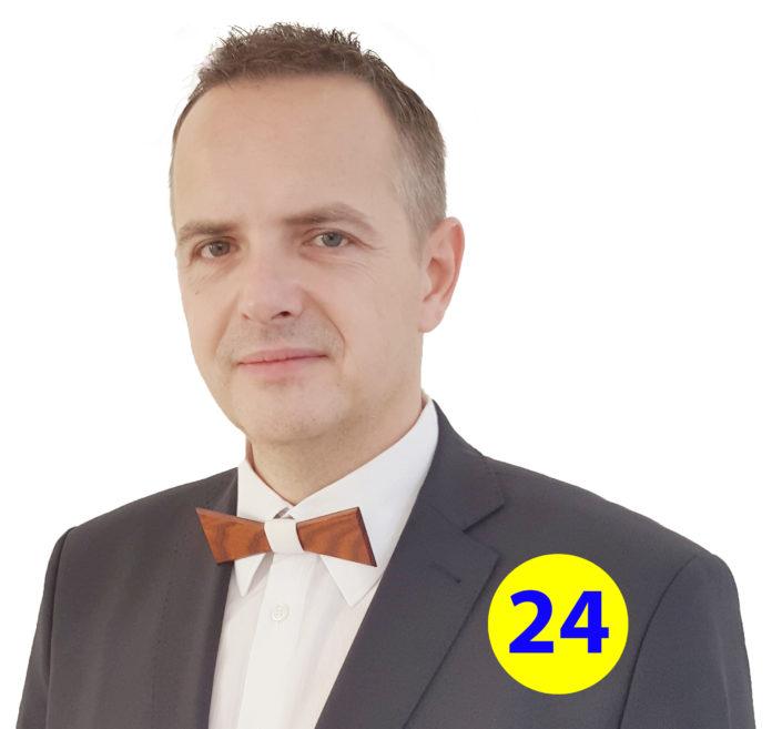Patrik Groma kandiduje