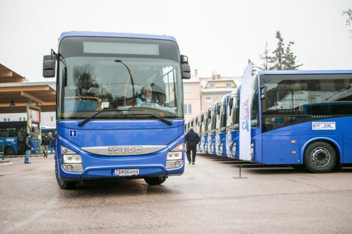 Moderné autobusy