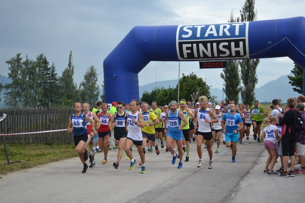 Na prvom ročníku bolo 2400 bežcov.